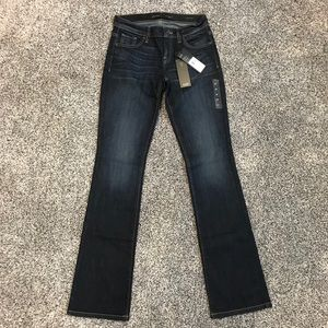 NWT Guess Los Angeles Boot Mid Rise Jeans